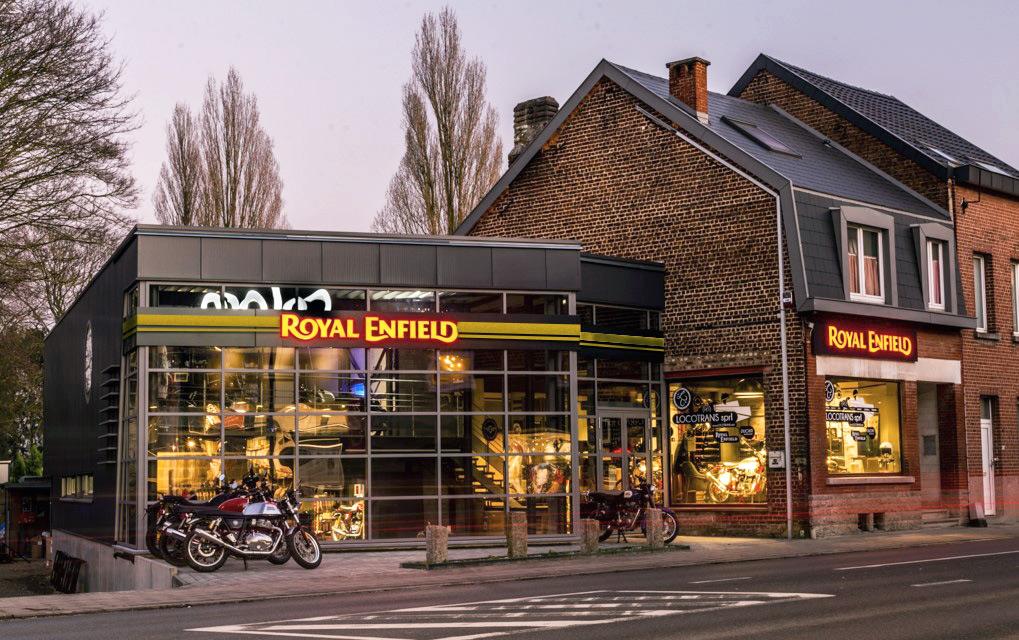 Locotrans Royal Enfield Exclusive Store Waterloo